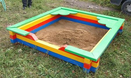 Песок в мешках для песочницы