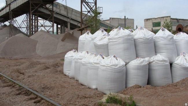 Закупка речного песка в мешках с доставкой - преимущества