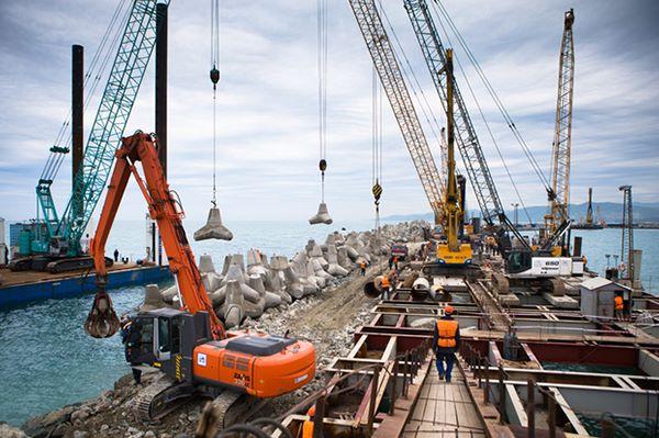 Строительство и реконструкция причалов